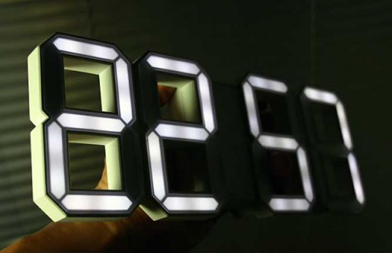... LED clock design is available for pre-order (Not an affiliate link
