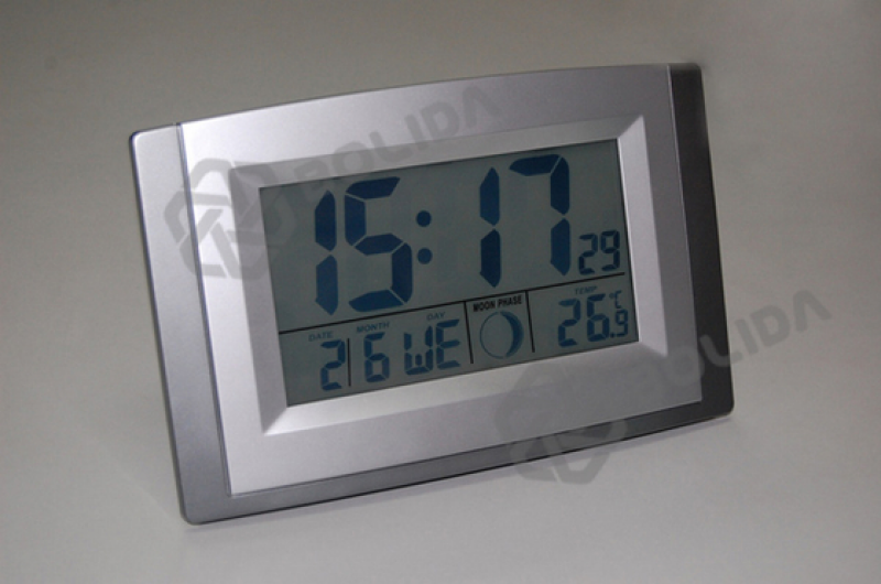 Radio Controlled Timekeeping LCD Digital Wall Clock - Shenzhen BOLIDA ...