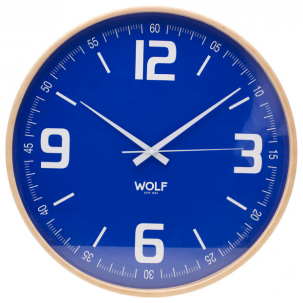Blue oversized wall clocks digital wall clocks www top - Oversized modern wall clock ...