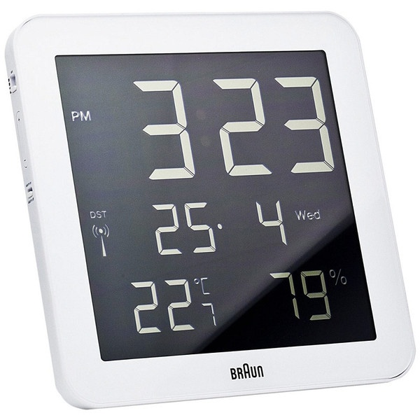 ... SQUARE DIGITAL WALL CLOCK $135.00 @ puremodern.com #modern #clock