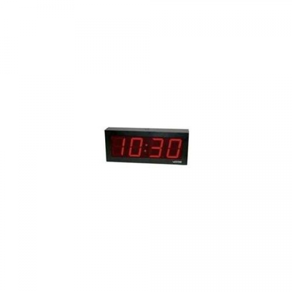 ... Clocks > Valcom VIP-D440DS Ip Poe 4 Digit 4 Inch Clock, D Ouble Sided