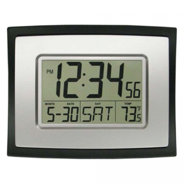 La Crosse Technology Digital Wall Clock - Walmart.com