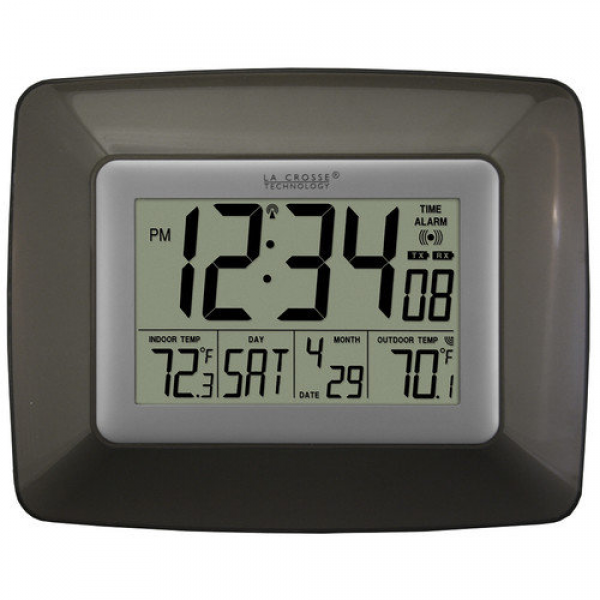 La Crosse Technology Atomic Digital Wall Clock - Walmart.com