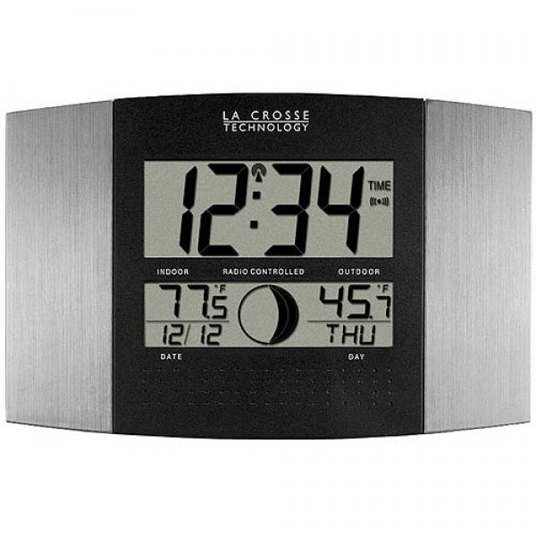 La Crosse Technology Atomic Wall Clock or Table Clock - Walmart.com