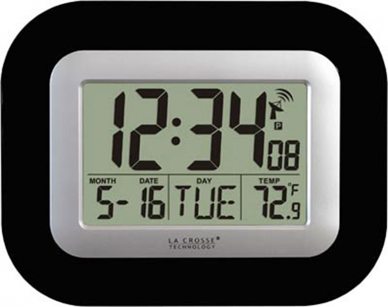 Clocks: La Crosse Technology WT-8005U-B Atomic Digital Wall Clock ...