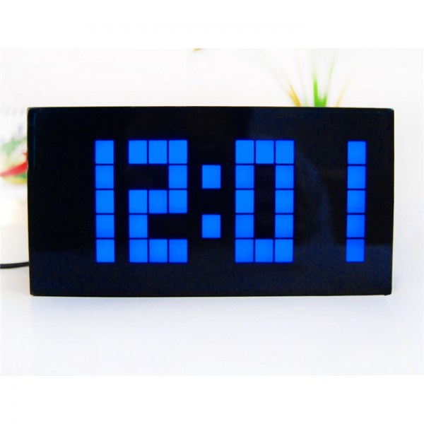 Big Jumbo Creative Alarm Clock Light Digital Wall Clock Cool Clock ...