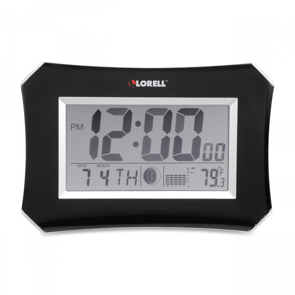 ... 60998 LCD Wall/Alarm Clock Digital LLR60998 Wall Clocks free shipping
