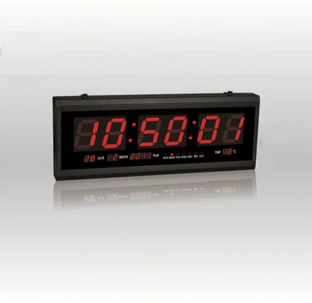 Digital red LED clock wall clock office clock TL-4819 price, review ...