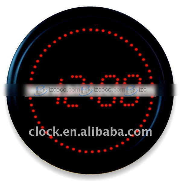 Red Led Digital Wall Clock | Bizgoco.com