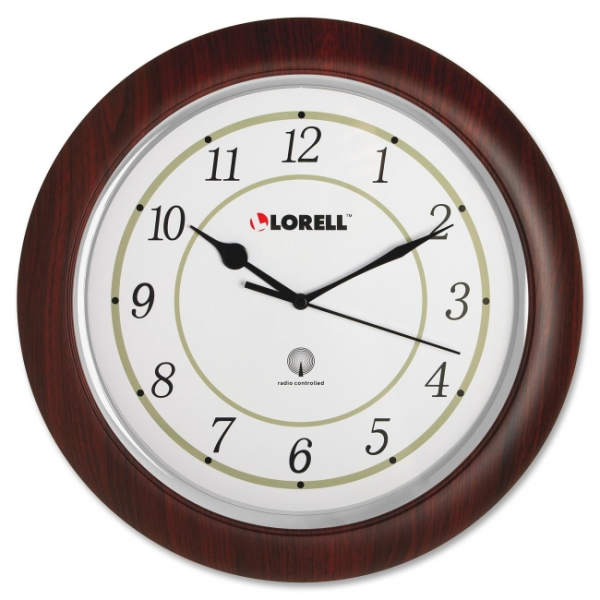 Lorell Radio Control Wall Clock - 60986 - Clocks - LORELL Clocks ...
