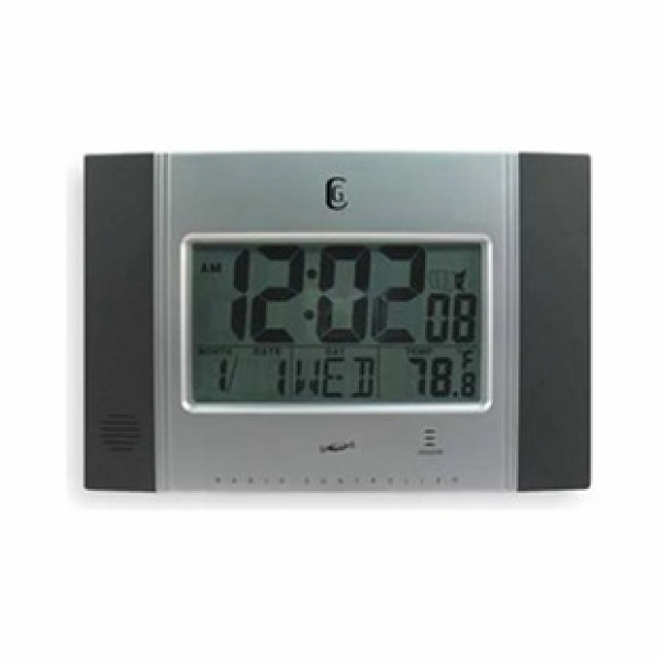 Quartz Clock, Digital RC, Silver - Join the Pricefalls family ...