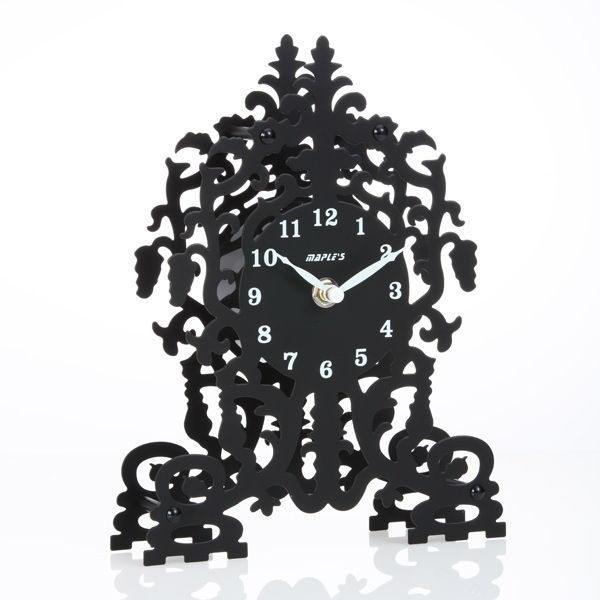 Silhouette Metal Table Clock - Silhouette Clock