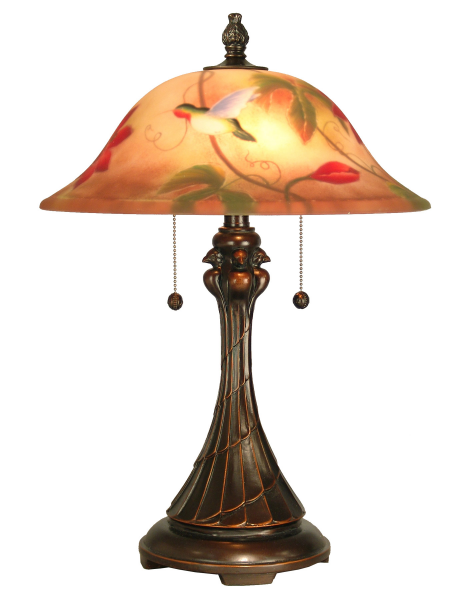 Dale Tiffany RT60278 Handel Style Tropical Sun Table Lamp