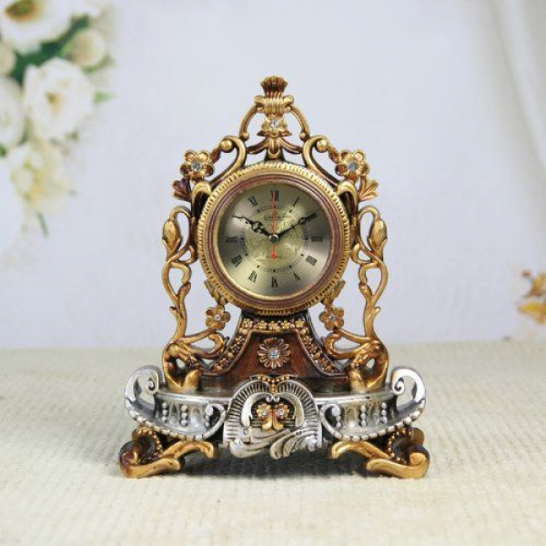 Mantel Antique Vintage Retro Style Decorative Table Clock: Antique ...