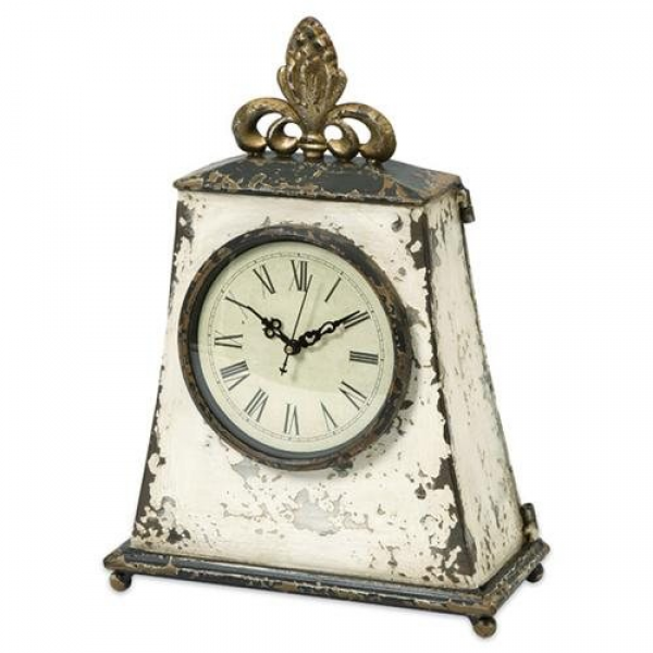 ... Round Footed Antique-Style Mantel Shelf Table Clock $200.99 $71.99