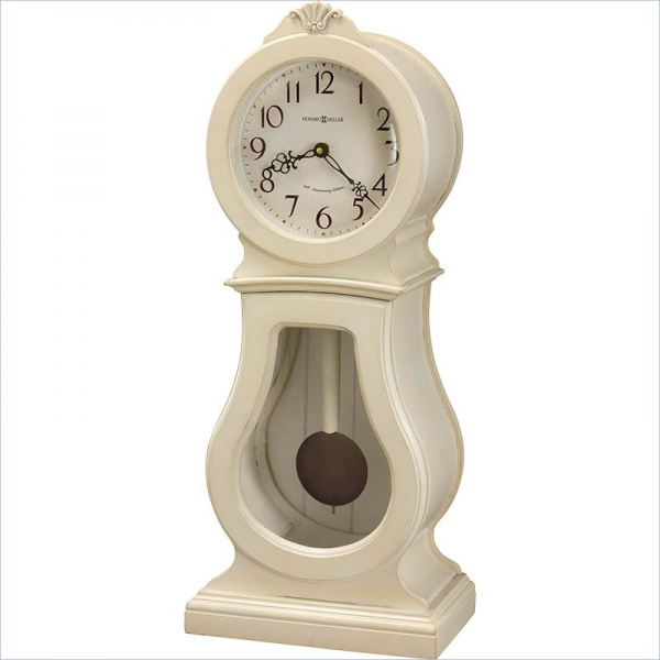 ... Audrey 84th Anniversary Edition Coconut Mantel Table Clock | eBay
