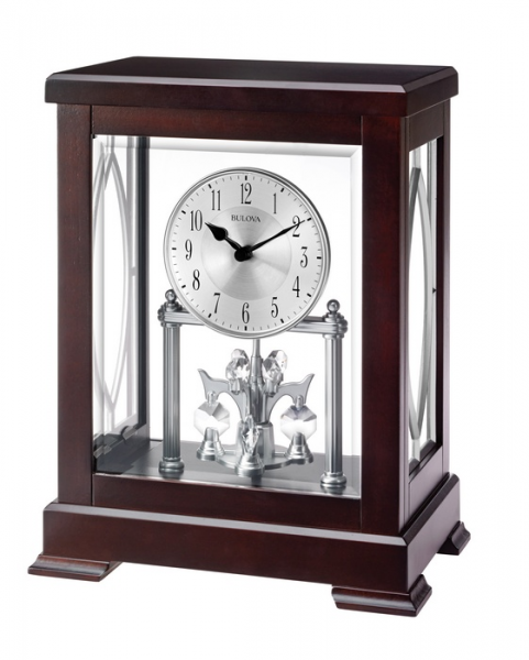 Table Clocks - Bulova Empire Anniversary Clock B1535