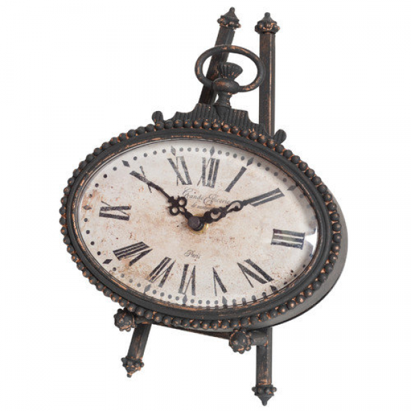 Wilco Oval Pocket Watch Table Clock: Decor : Walmart.com