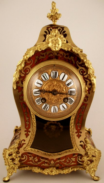 Antique French Boulle Mantel Clock | Ian Burton Antique Clocks