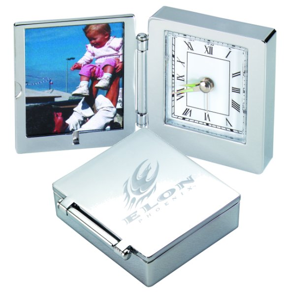Home >> Corporate Gifts For Women >> Desk Clock & Picture Frame