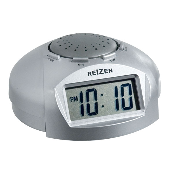 Reizen Big LCD Display Talking Alarm Clock - click to view larger ...