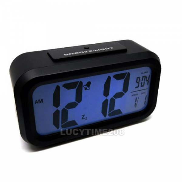 ... about Snooze Light big LCD Digital Backlight Alarm Clock