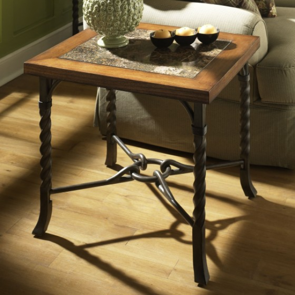 Home > Riverside Medley End Table - Camden Finish