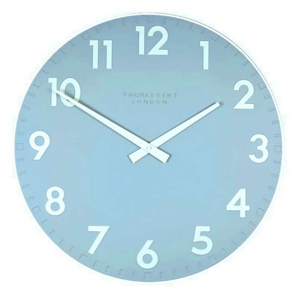 Thomas Kent - 20 inch Camden Powder Blue Wall Clock