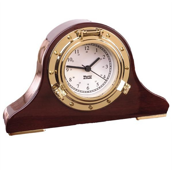 Weems & Plath 410500 Nautical Tambour Clock