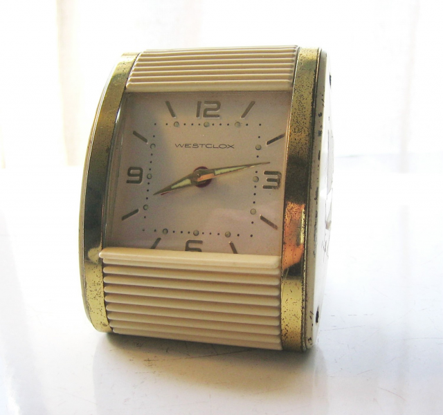 Vintage Westclox Travel Alarm Clock 1960's by OddznEndz on Etsy