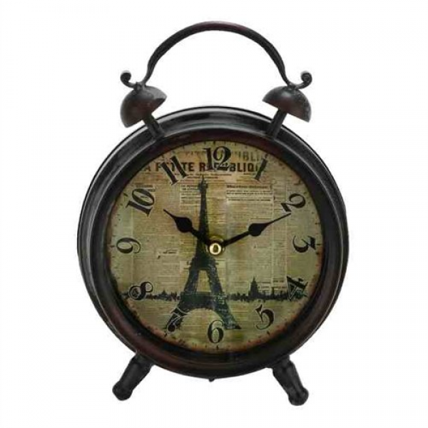 ... Eiffel Tower Table Clock 52506: Unique Desk Clocks - TOP-CLOCKS.COM