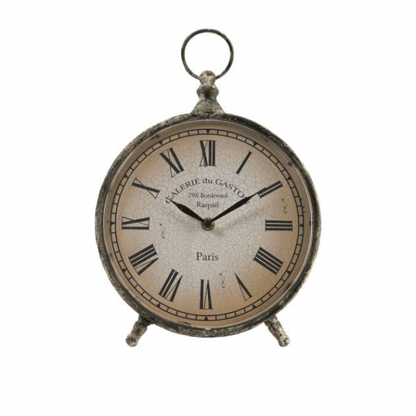 ... Over-Sized Pocket Watch Style Roman Numeral Desk Clock Clocks