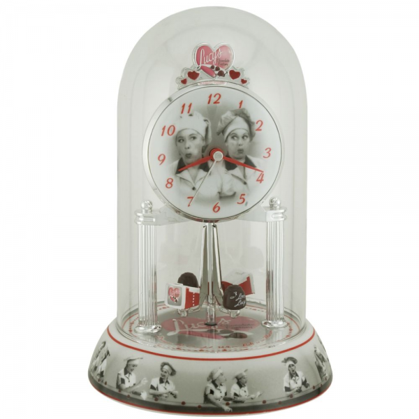 Love Lucy Chocolate Factory Anniversary Clock