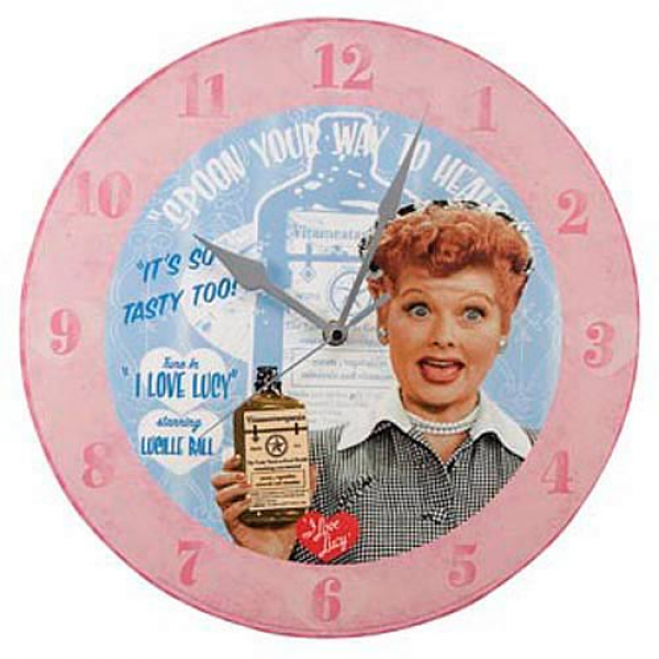 Love Lucy Spoon Your Way To Health Wall Clock - Vandor - I Love Lucy ...