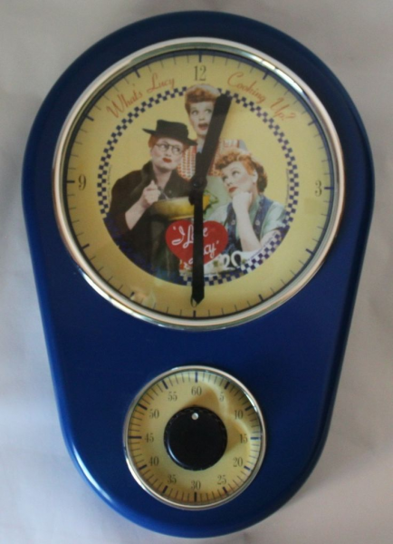 ... CLOCK AND TIMER ALL IN ONE - LUCILLE BALL-I LOVE LUCY CLOCK | I love