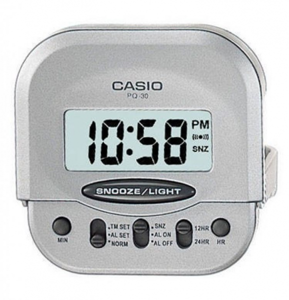 Casio Digital Table Clock, Casio Pq 30 8Df Pl014 Table Clock At Best ...