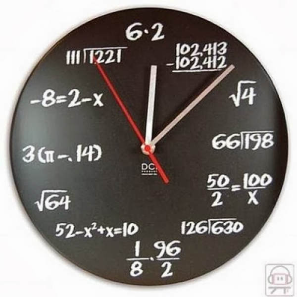 Have a look at the collection of Cool and Unusual Clocks and Watches.