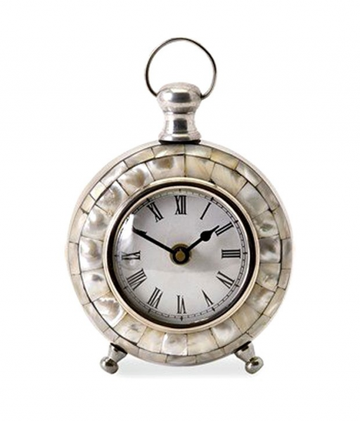 Buy IMAX Silver Aluminum Table Clocks @ Best Prices | Snapdeal