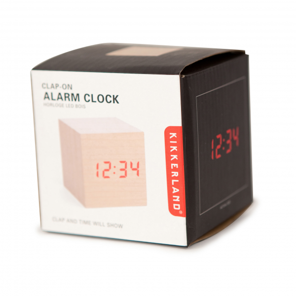 Home > Accessories > Radios and alarm clocks > Alarm Clock Wood Cube +