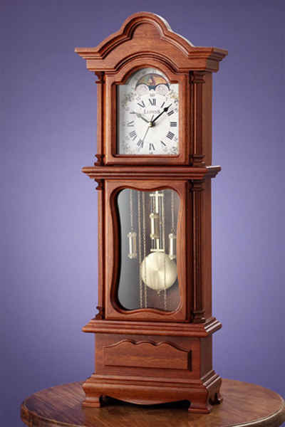 View Large Image of Mini Grandfather Clock Table Top
