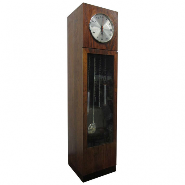 ... Nelson for Howard Miller Table Top Mini Grandfather Clock at 1stdibs