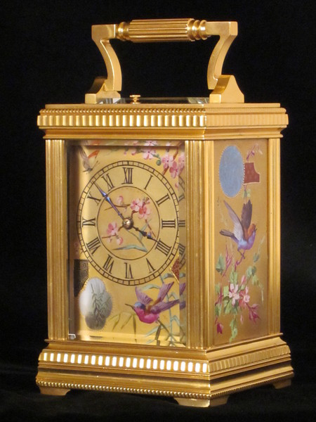 clocks skeleton clocks export market petite sonnerie carriage clock ...
