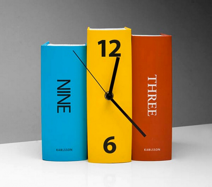 Creative Clocks By Karlsson Clocks | BonjourLife