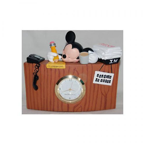 Disney Mickey Mouse Desk Clock Kids and Family - Shopping.com