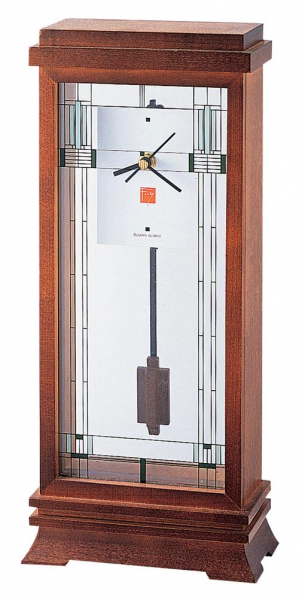 Bulova Frank Lloyd Wright Willits Mantel Clock Model B1839