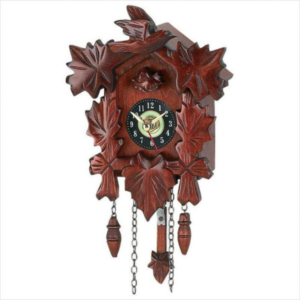 Kassel Small Cuckoo Clock,Wood Accents,Home&Garden,Colle ctible ...
