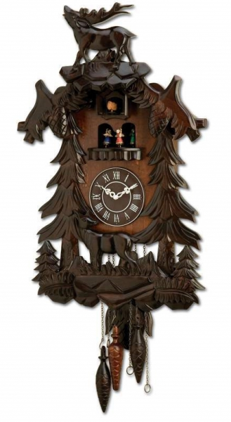 Kassel Cuckoo Clock with Precise Quartz Movement - Wall Clocks