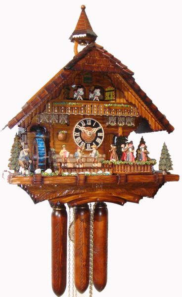 Musical Cuckoo Clock With Real Water 86200T - Cuckoo Clock Nest