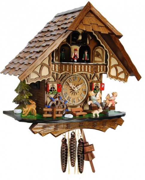 home cuckoo clocks 1 day musical clocks see saw musical cuckoo clock ...