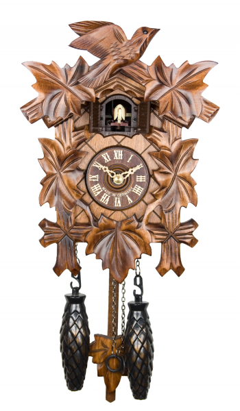 Adolf-Herr-Quartz-Cuckoo-Clock-The-Traditional-Vine-Leaves-AH-40-1-QM ...